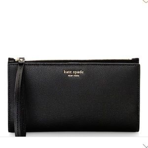 NWT Auth Kate Spade Large Continental Wristlet